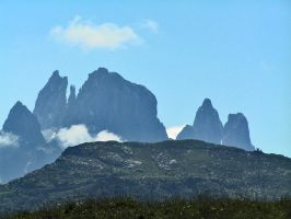 Mountains in blue by edelweiss26