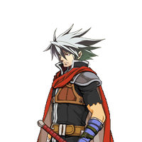 Ragna The bloodedge as The mercenary by Redchampiontrainer01