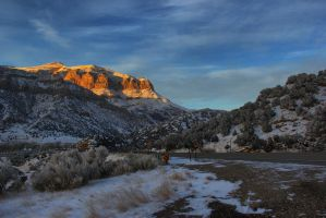 Wyoming Canyon by Halcyon1990