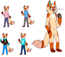 Bailey's Anthro Ref by Bailey-Kat