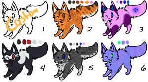 Adoptables Batch 5 -OPEN- by guardianhawkpool