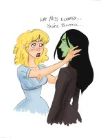 Wicked: You're Beautiful... by sapphicspencil