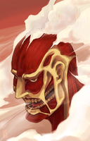 Colossal Titan by robotstar