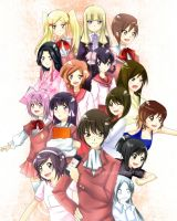 The World God Only Knows by enjelia