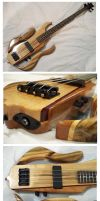 'Firewood' Custom Bass by Fusillade-Design