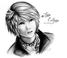 Hope Estheim FFXIII by cold-nostalgia