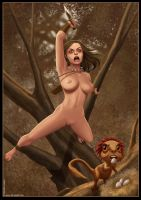 JungleGirl vs The EggThief by Ferres