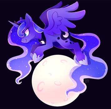 Moon Princess by ChocoChaoFun