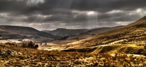 HDR of the Welsh Valley by SniperFC