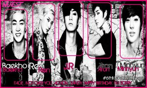 6month with NU'EST by se7enQueenz