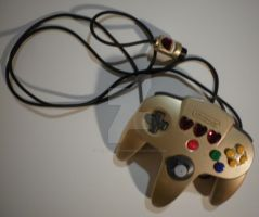 Legend of Zelda- Themed N64 Controller by peanutbuttahhh