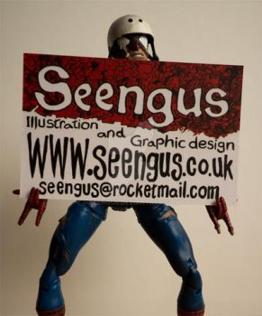 new business card design by seengus