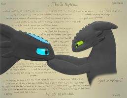 This Is Nightclaw (Colored) by ThatNightFury