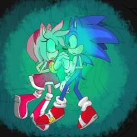 Together- Sonamy colouring by Cassy007