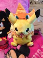 Pikachu Cosplay Plush by OceanMelodyUnicorn