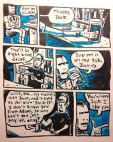 Iron Man's brother goes to the bar by thegreck