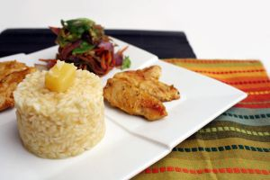 Tropical Chicken, Rice 4 by laurenjacob