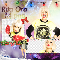 Png pack #46 Rita Ora by blondeDS