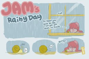 Jams Rainy Day by CookingPeach