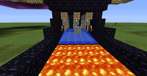 Tic Tac Toe Redstone Build - Players Area 4 by bugworlds