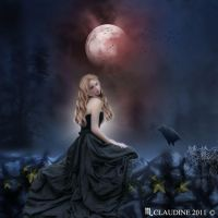 Full moon by Claudine2011
