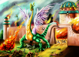 Battlefield by king-ghidorah
