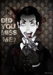 Miss me? - Jim Moriarty by Negatable
