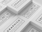 2 in 1 Black and White Business Card - 60 by nazdrag