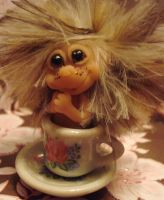 TEA CUP PIXIE SKEETER by crazylittlecritters