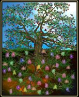 The Tree of Life by 1purplepixie