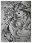 Mother and child by kyoko2