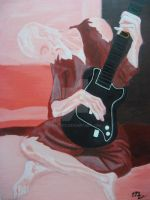 Paul Picasso: Old Guitarist by pbundy