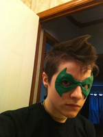 Damian wayne Mask by AcE-oFkNaVeS