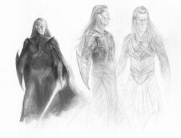 Maedhros armor concepts by TurnerMohan