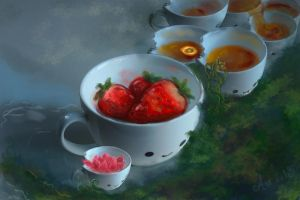 Tea Cup Forest by aniva