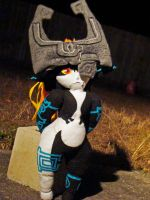 Midna Plushie by HidingInTheClouds