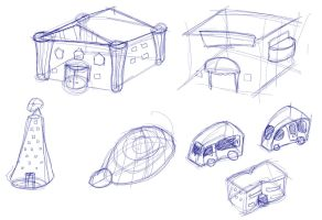 Chipper Town - More concepts by Loucife