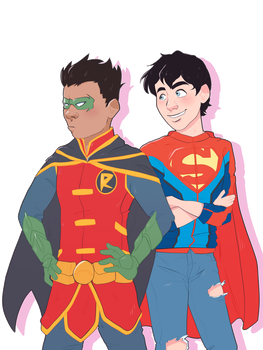 Super Sons by FrenchiestToast