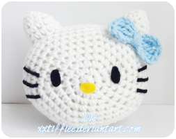 Hello Kitty Pillow by xxtiffiee