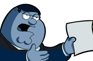 Peter Griffin:File That Report by LeeRoberts