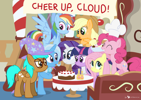 Cheer Up, Cloud! (!C) by dm29