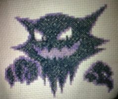 Haunter Cross Stitch by Pansymanic