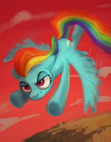 Rainbow Dash by Lis-Alis