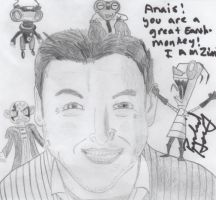 Richard Horvitz autograph by theneopetmaster