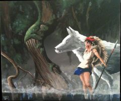 Princess Mononoke by SemajZ