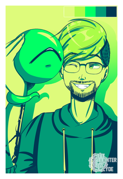 [SP]Jacksepticeye and Sam- Color Palette Challenge by winterclyde