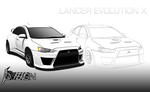 Lancer Evolution X by ISPMatsumotoTakanori