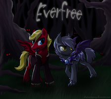 Everfree - comm. by DawnMistPony