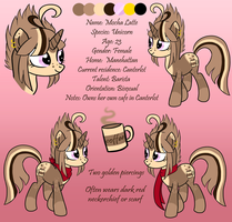 Mocha Latte Ref by HoneyHeartStudios