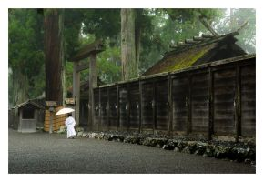 Ise Shrine by thinhlegolas